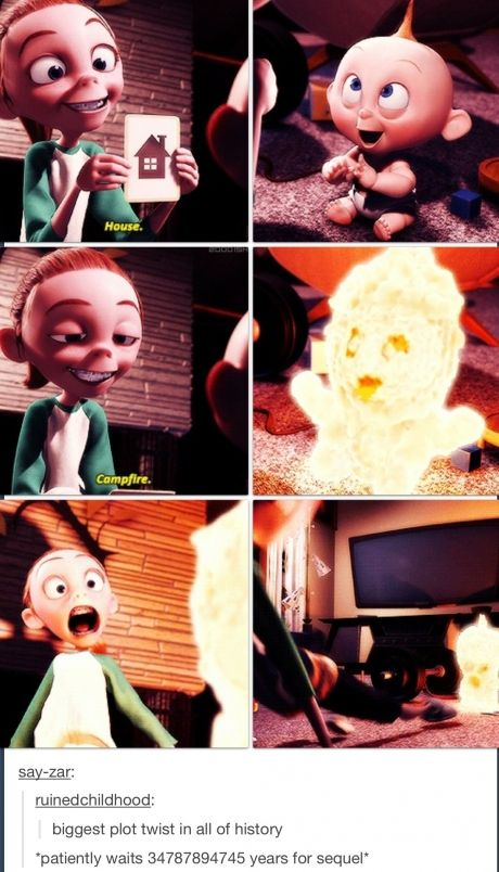 The Incredibles as seen by Tumblr