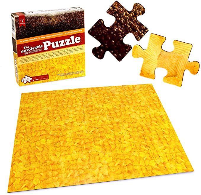 Unlösbares Puzzle