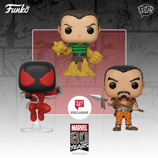 New Marvel Comics 80th Anniversary Pop Vinyl Figures From Funko Marvel Pop Vinyl Funko Pop Toys Vinyl Figures