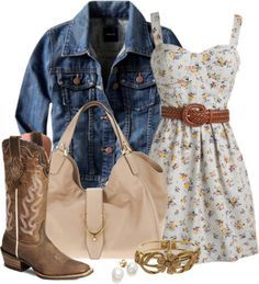 Country inspired fashion
