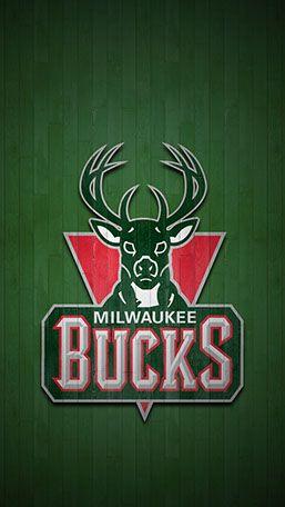 Milwaukee Bucks Mobile Hardwood Logo Wallpaper Milwaukee Bucks Bucks Basketball Nba Basketball Art