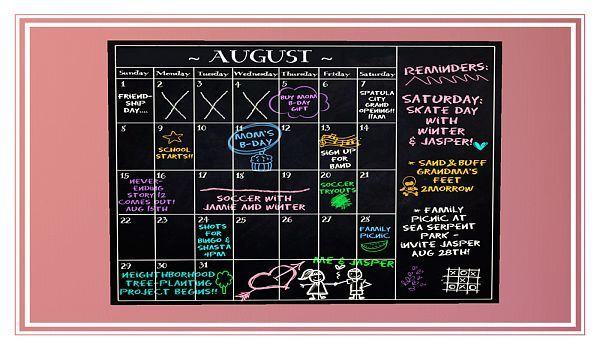 Sims 3 chalkboard, wall, calendar, decor, objects