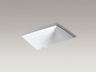 KOHLER | K-2339-0 | Memoirs® Undermount bathroom sink - 20 11
