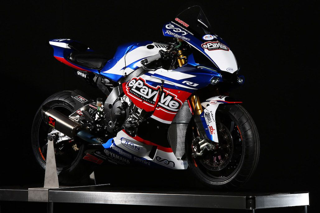 epayme yamaha unveil striking 2016 livery at motorcycle live