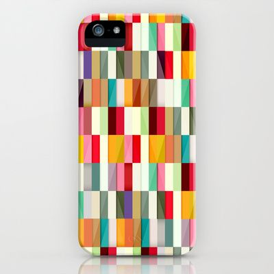 Stripes iPhone & iPod Case by Danny Ivan - $35.00