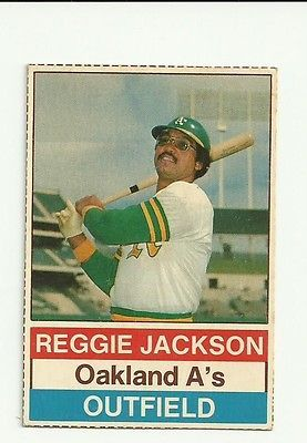 1976 Hostess Baseball 146 Reggie Jackson Ebay Baseball