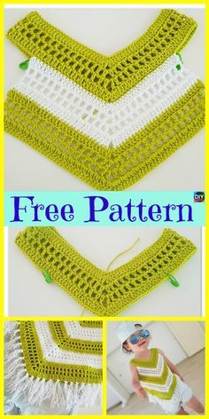 Crochet Little Girl Summer Top - Free Pattern #crochetclothes