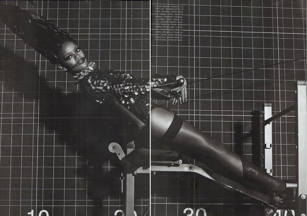 Rihanna in Vogue