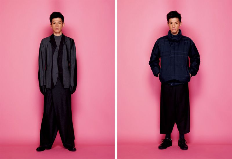 Daisuke Ueda Sports Issey Miyake Fall/Winter 2012