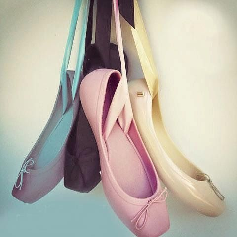 The Terrier and Lobster: Melissa Plastic Pointe Shoe Flats and Heels