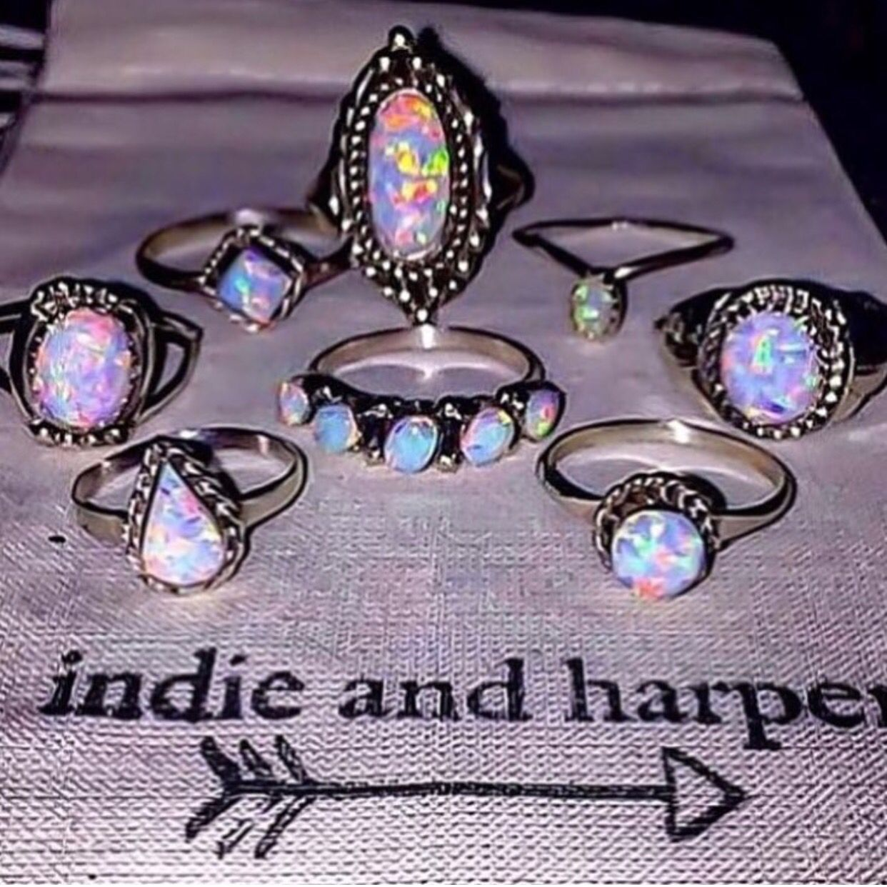 NAVAJO || Opals available in our 'Navajo' Collection NOW www.indieandharper.com