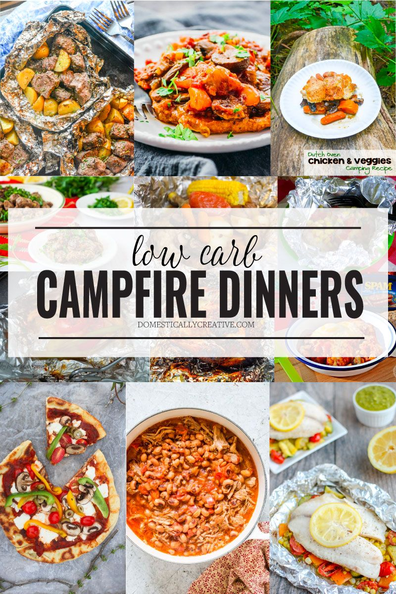 Low Carb Campfire Dinners Campfire dinner recipes