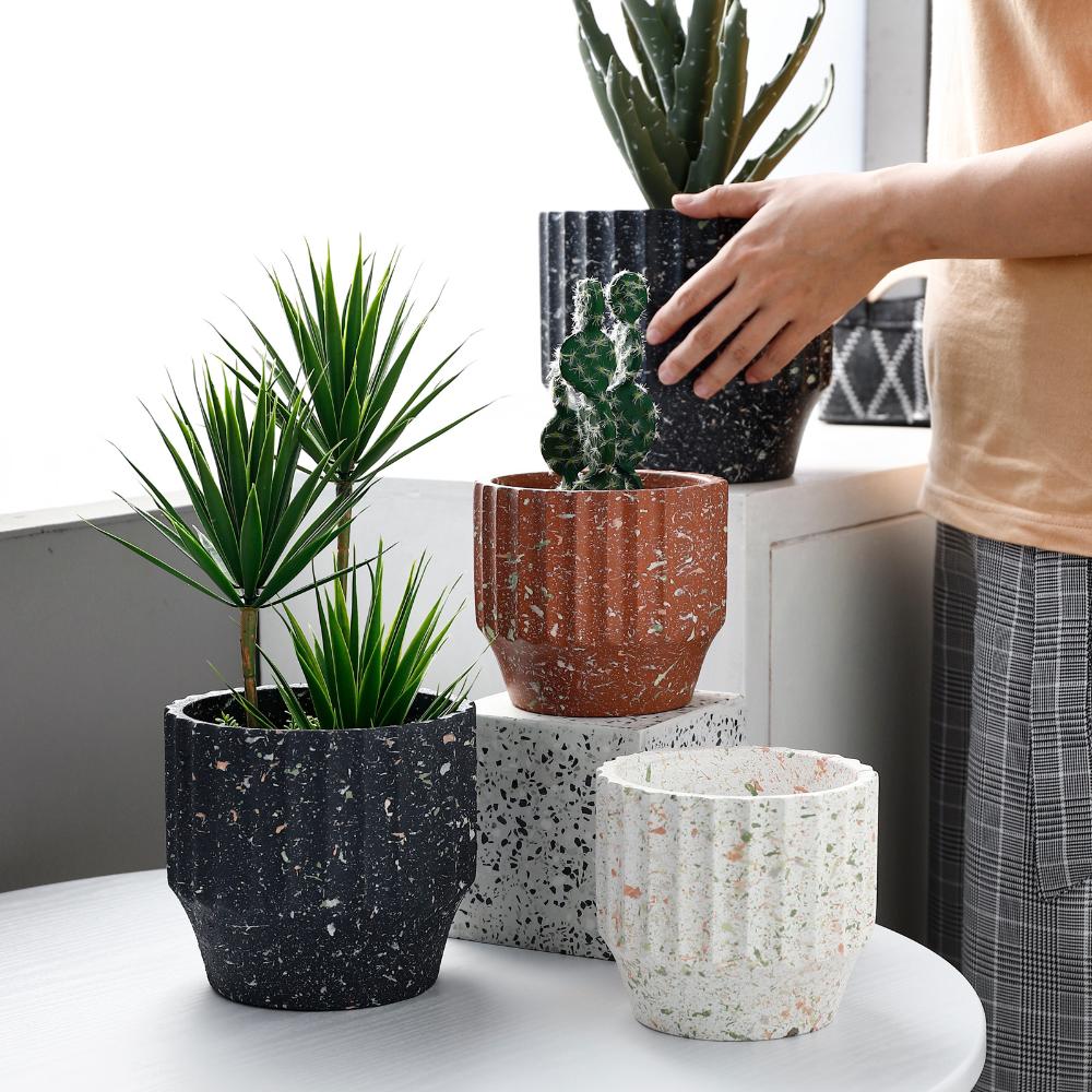 Copper Concrete Planter Home Decor Easter Cements Pots Pots for plants Planter For Succulents