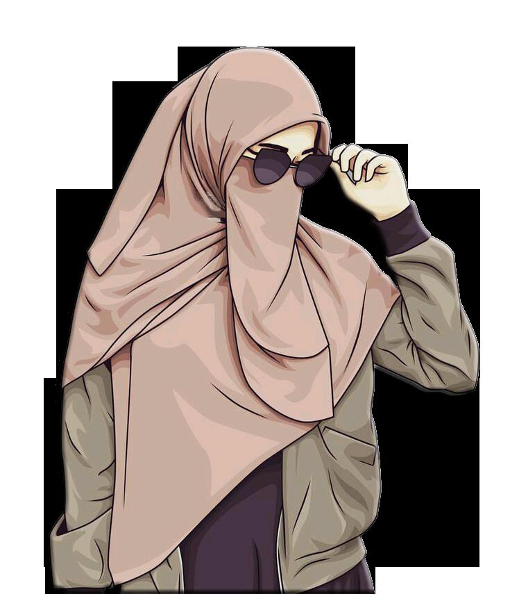 Pin by İrem on )i Hijab cartoon, Hijab drawing, Muslim