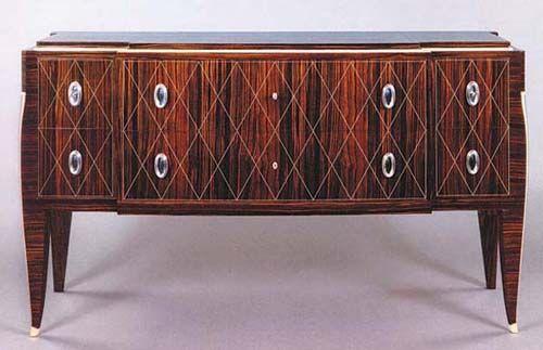 Furniture Art Deco Cabinet