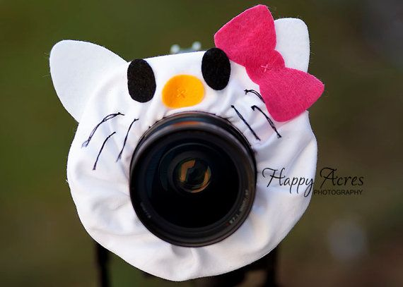 Lens Bling Kitty Ready to Ship by HappyAcresFarm on Etsy, $19.00