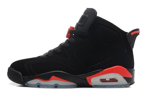 Nike Air Jordan AJ6 Retro Jordan 6 Basketball Shoes Men And Women Shoes Black