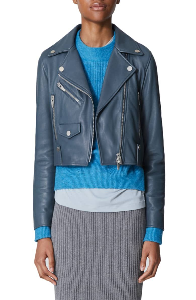 The Arrivals Clo Mini Leather Jacket Nordstrom Leather Jackets Online Leather Jacket Coats Jackets Women [ 1196 x 780 Pixel ]