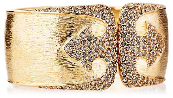 Golden Deco Bracelet   Jewelry by Ciner   One Kings Lane