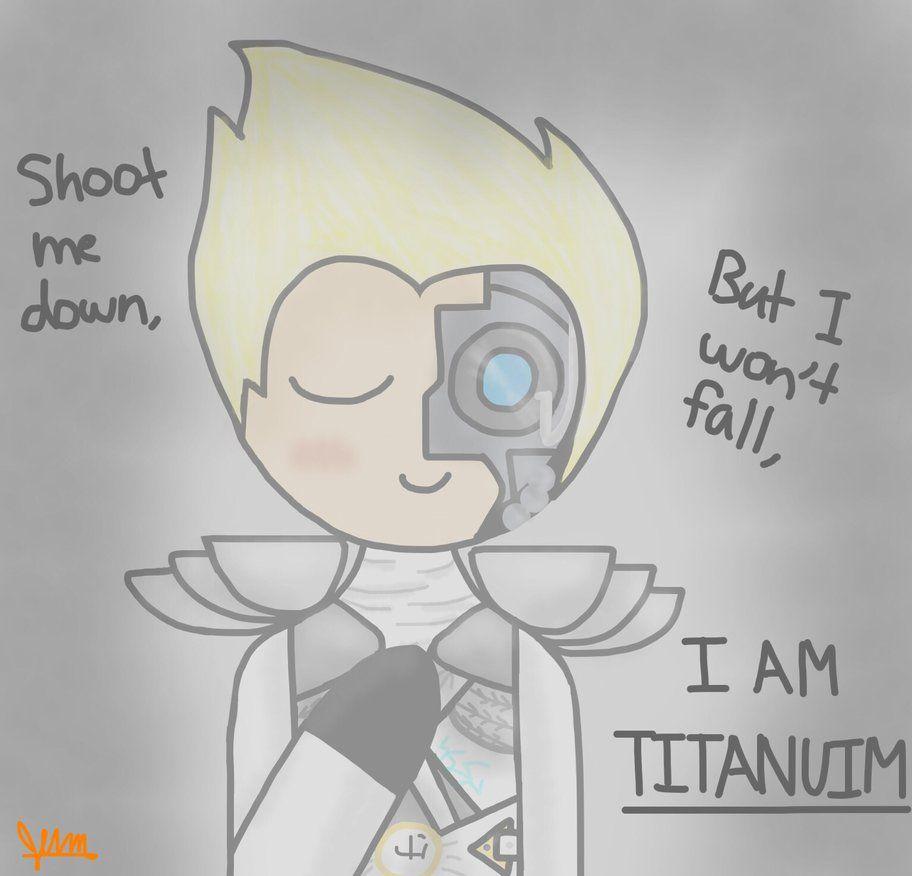 Ninjago~ I am Titanium by JennBrickowski2021