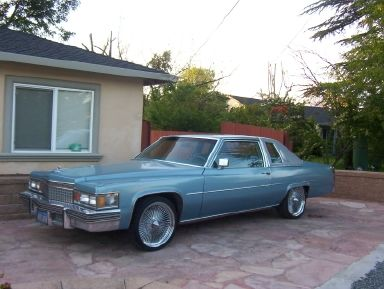 79 Cadillac Coupe Deville On 20s