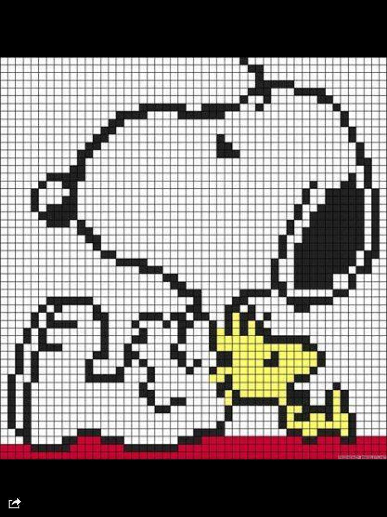 Snoopy C2c Pattern Crochet Corner To Corner Häkeln C2c Häkeln
