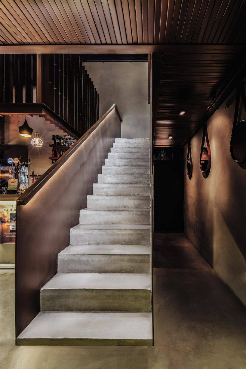 Bar Le French Flair dongqi architects designs le poulet eatery in china with an