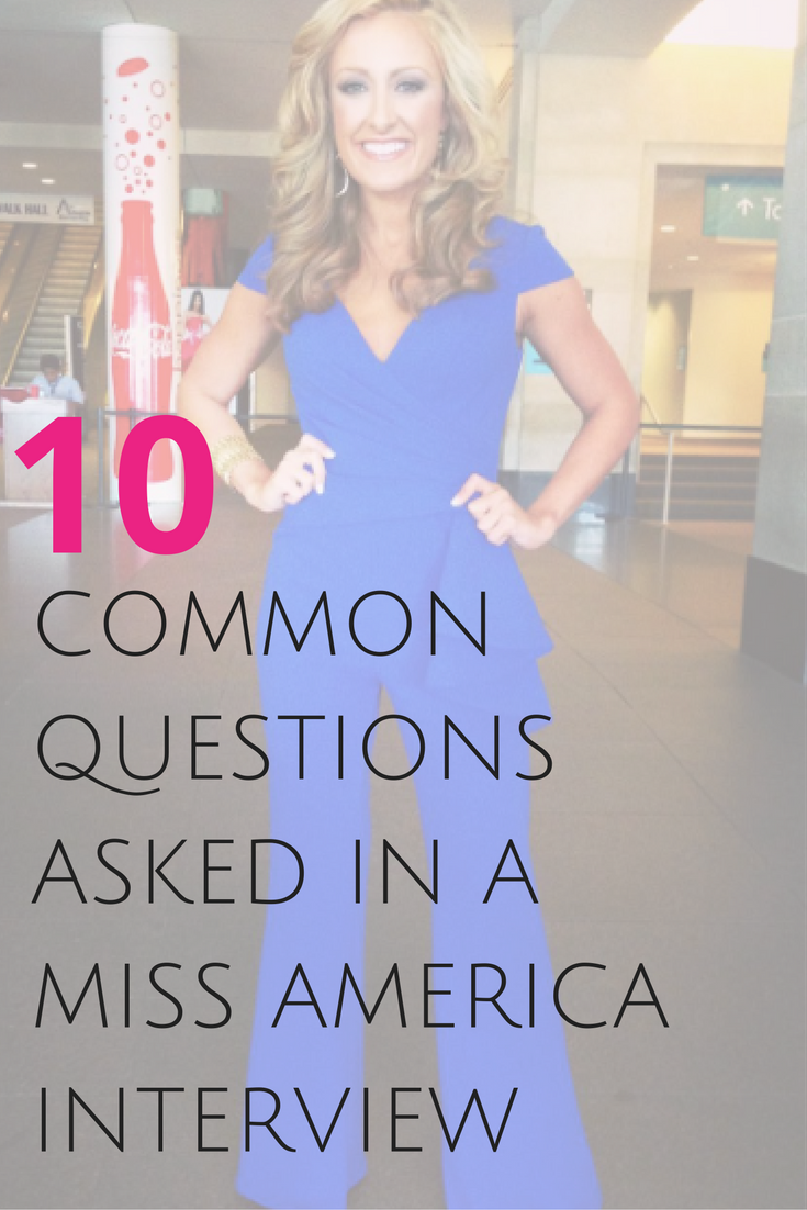 The Miss America Interview Is A Panel-Style Interview With -4428