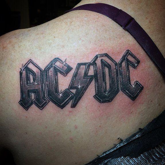 Resultado De Imagen De Tatuajes De Acdc Acdc Tattoo Tattoos