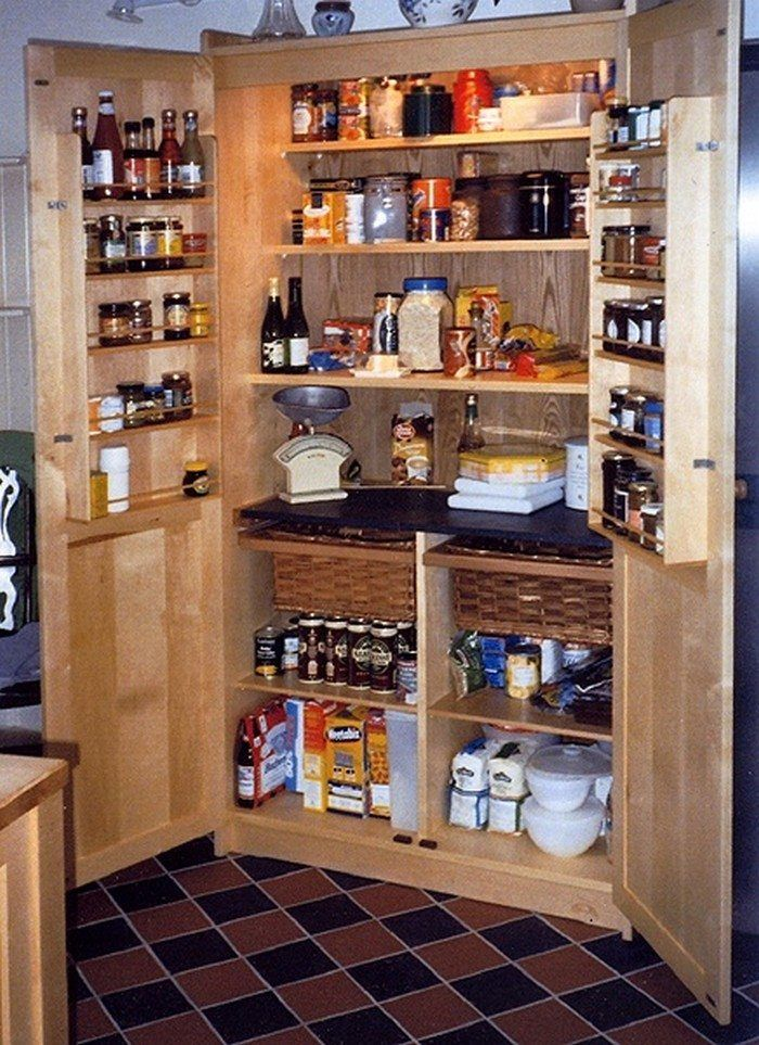 Build a freestanding pantry DIY Kitchen and Kitchen Decoration