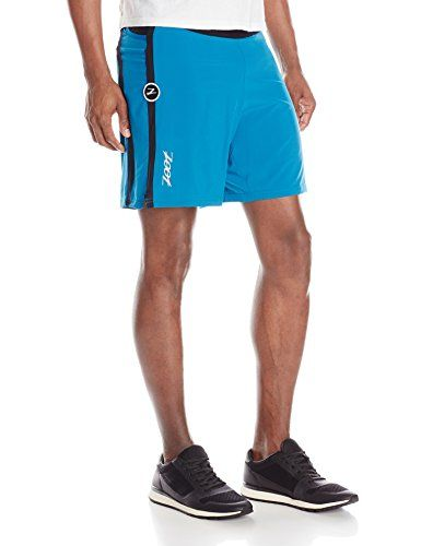 ZOOT SPORTS Mens Run Pch 21 7Inch Short Small