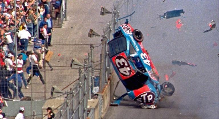 Petty in the Daytona 500 Nascar crash, Nascar wrecks