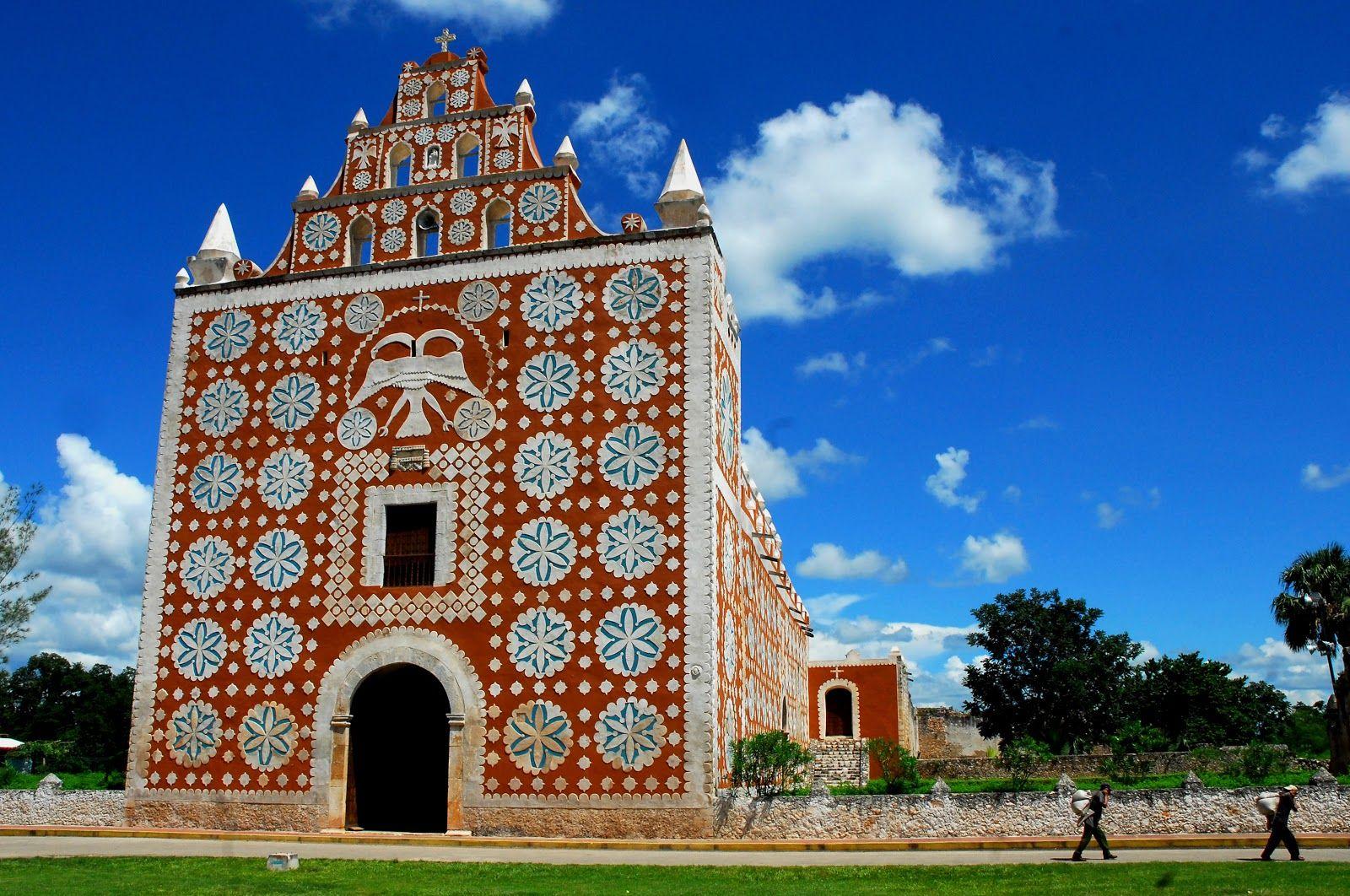 México-Yucatan-Huayma-Iglesia y Convento Santo Domingo de Guman