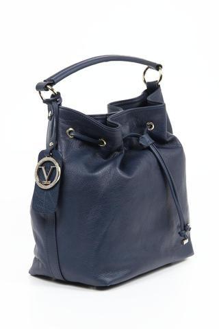 Versace 19.69 Abbigliamento Sportivo Ladies Handbag - V005 NAPPA BLUE