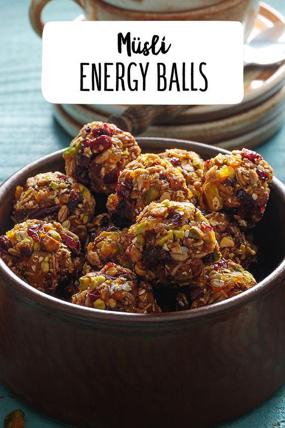 Müsli Energy Balls