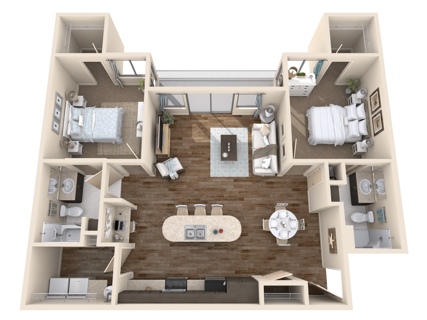 Floor plan imaging 3d floor plans floorplans for Apartment 3d