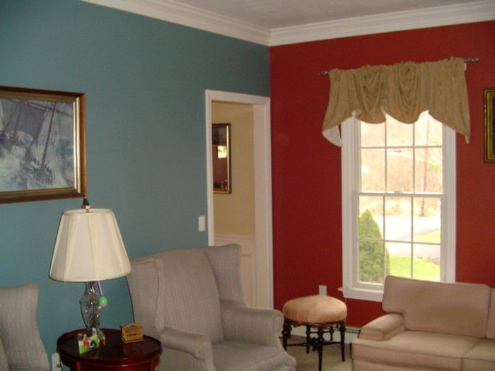 10 Best images about Interior Red Colour Family on Pinterest. Wall paint colour combination for living room