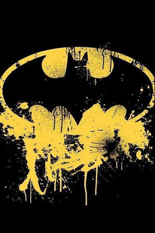 Batman Logo - SPLAT!