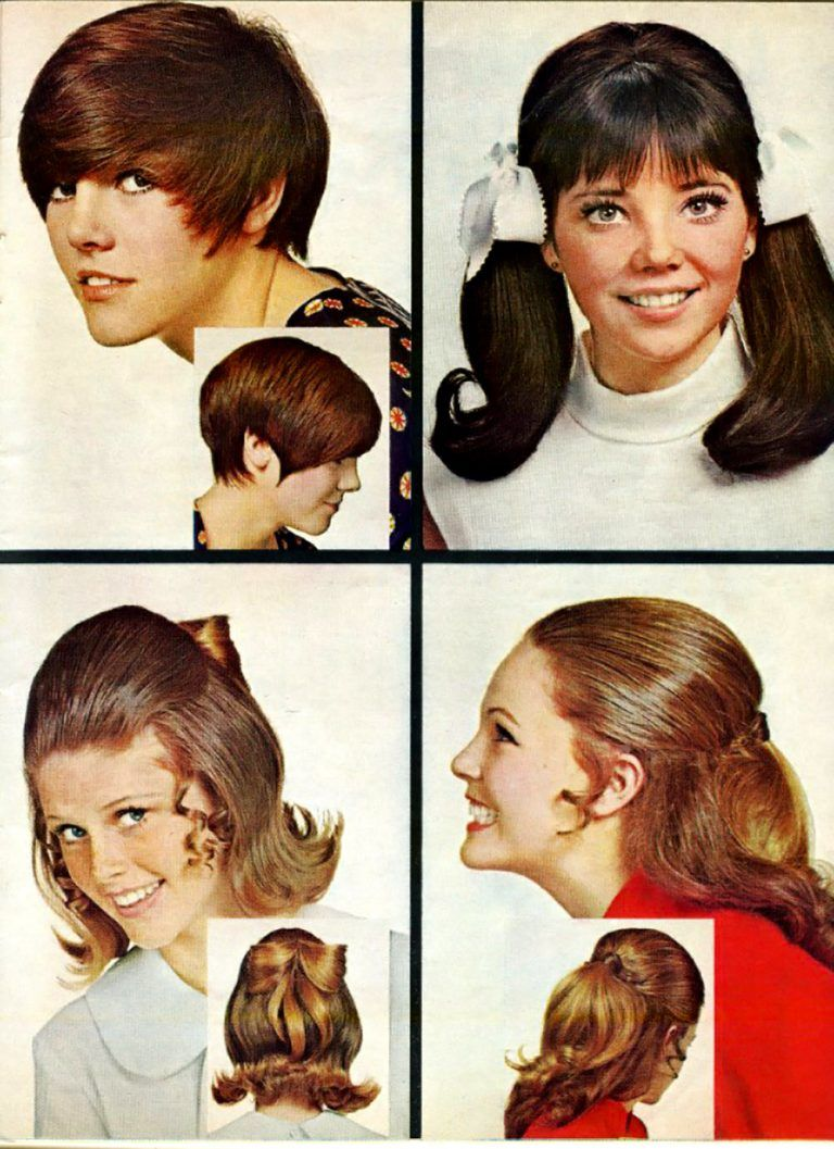 Choose Your Retro Haircut Hair Style Selections From The 1950s 1980s In 2021 Retro Haircut Vintage Hairstyles 1960s Hair