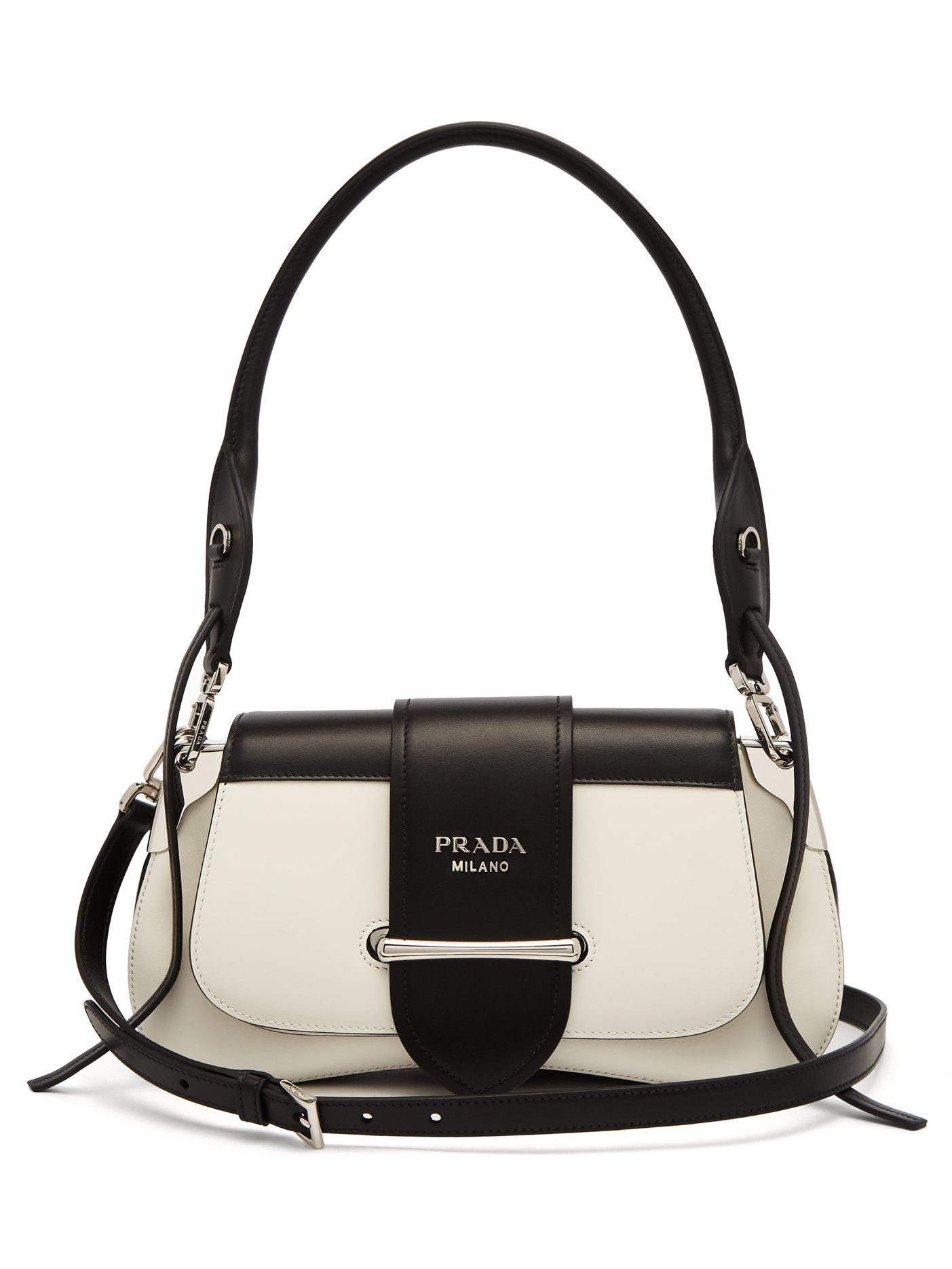 266cbabcbf17 Sidonie leather shoulder bag | Prada | MATCHESFASHION.COM US ...