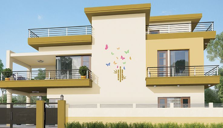 Get Range Of Wall Art Exterior Home Earthy Designs Asian Paints House Designs Exterior Exterior House Paint Color Combinations Exterior Design
