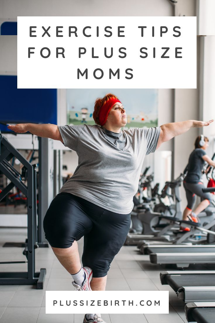 Photo of Exercise Tips for Plus Size Moms by Louise Green