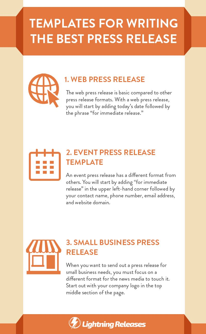 templates for writing the best press release press release tips