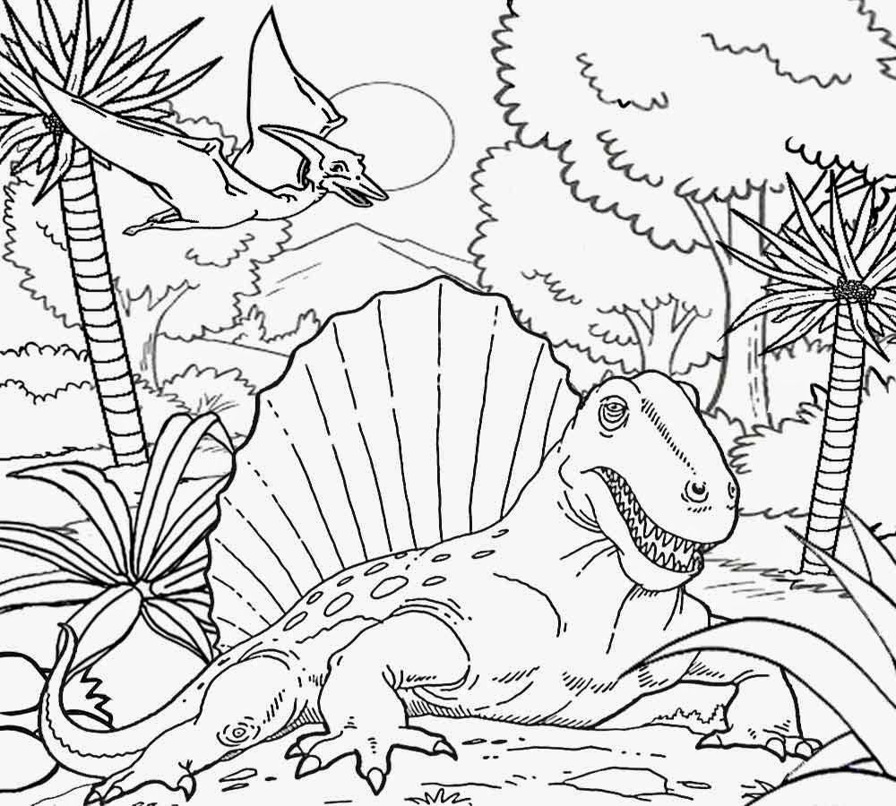 Triassic Period coloring page - Bing Images | dino unit | Pinterest