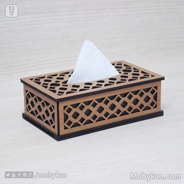 Honeycomb Style For Tissues Box Tissue Boxes Wood Colors Box