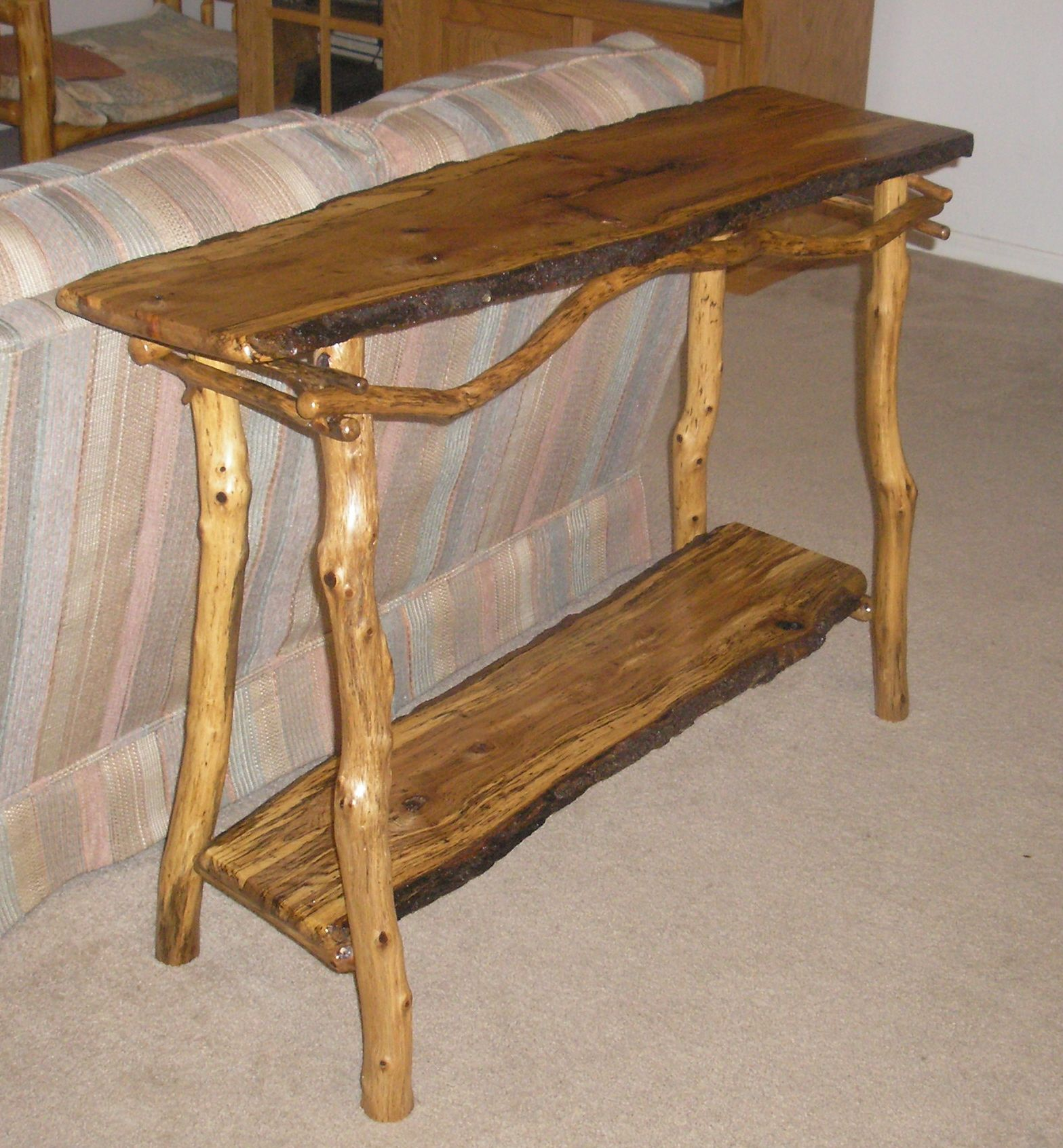 Rustic Rustic Sofa Tables Log Sofa Tables Florida Rustic Sofa Tables Decor Log Furniture Plans