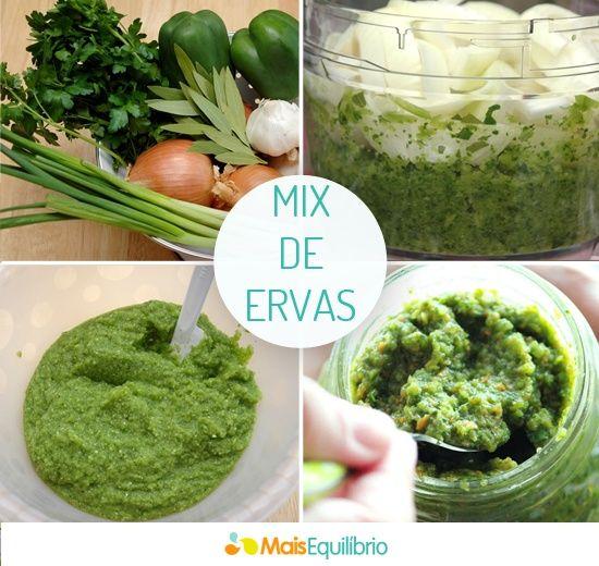 Aprenda fazer um mix de ervas e reduza o sal da sua alimentação! http://maisequilibrio.terra.com.br/cuidado-com-o-sal-5-1-4-539.html: