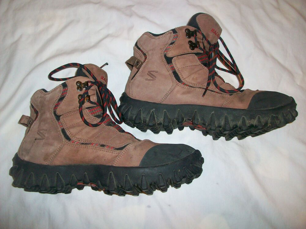 6c6b695ad82f2 SALOMON INSULATED HIKING BOOTS MENS SIZE 10 44 EURO SALOMON HIKING ...