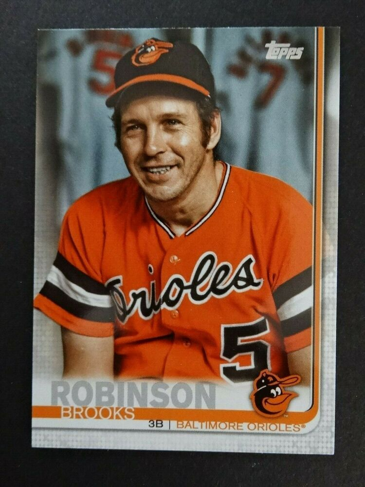 2019 Topps Series 1 276 Brooks Robinson Orioles Ssp Photo
