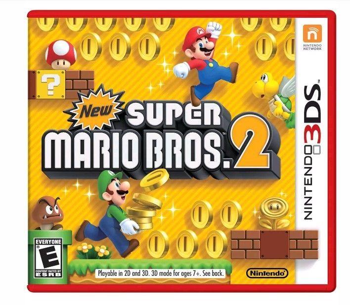 New Super Mario Bros 2 For Nintendo 3ds Ebay Pinterest Super
